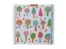 Sticker book enfant album pour autocollants Arbres