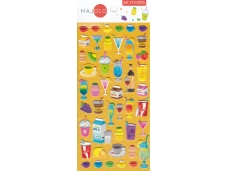 Stickers autocollants gommettes enfant food boissons