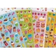 Stickers autocollants gommettes enfant food gâteaux boissons glaces pâtisseries macarons