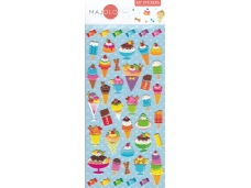 Stickers autocollants gommettes enfant food glaces
