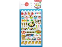 Stickers autocollants gommettes enfant kawaii food sushi