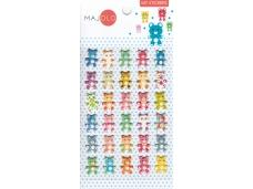 Stickers autocollants gommettes enfant kawaii oursons mignons