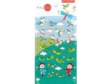 Stickers autocollants gommettes enfant insectes libellules