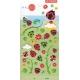 Stickers autocollants gommettes enfant insectes coccinelles