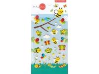 Stickers autocollants gommettes enfant insectes abeilles