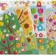 Stickers autocollants gommettes enfant fleurs arbres fruits