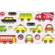 Stickers autocollants gommettes enfant véhicules voitures camions bus