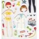 Autocollants pour enfant stickers gommettes docteur