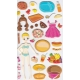 Autocollants pour enfant stickers gommettes restaurant snack