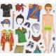 Stickers pour enfant personnage garçon à habiller rose