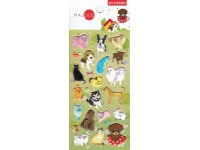 Stickers autocollants gommettes enfant chiens chats
