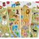Autocollants stickers gommettes pour enfant animaux