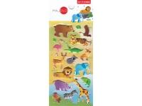 Autocollants pour enfant stickers gommettes animaux de la savane