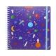 Kit créatif sticker book Espace et feutres effaçables