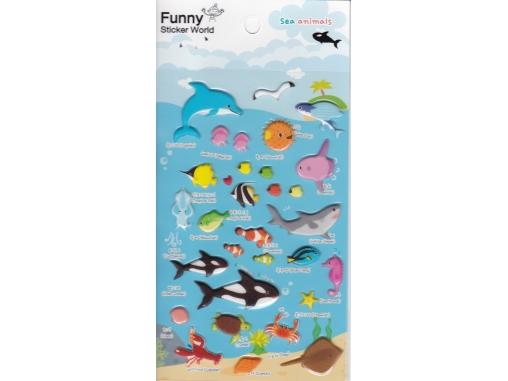 Stickers animaux de la mer