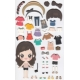 Stickers fille