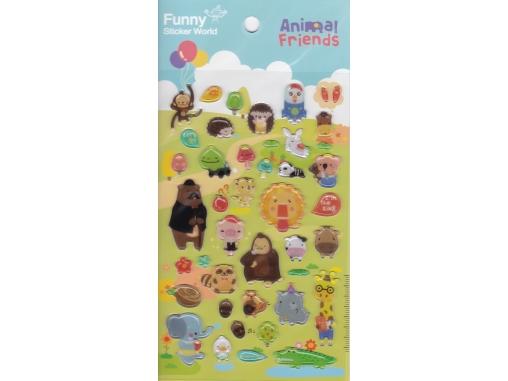 Stickers animaux rigolos