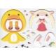 Stickers fille avec déguisements