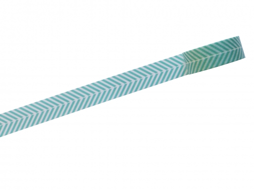 Washi tape chevrons