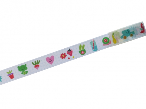 Washi tape imagier rigolo