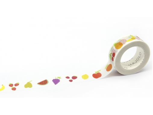Washi tape fruits