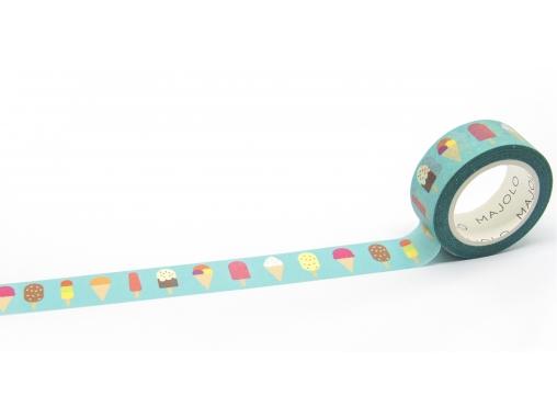 Washi tape masking tape glaces