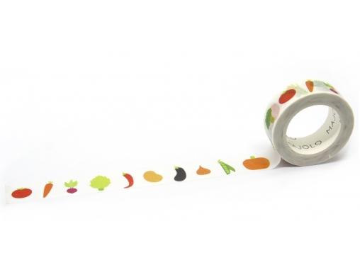 Washi tape légumes