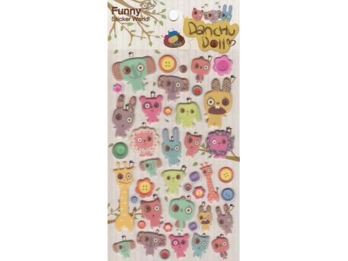 Stickers doudous