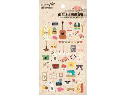 Stickers jolis accessoires filles
