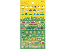 Stickers camping