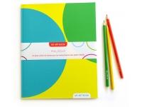 Cahier de dessin arabesques