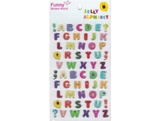 Stickers fantaisie lettres