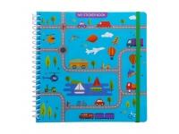 Sticker book enfant album pour autocollants véhicules