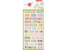Stickers petites bandes de motifs