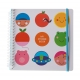 Sticker book Bulles