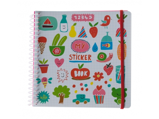 Sticker book Imagier rigolo
