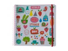 Sticker book Imagier rigolo